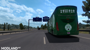 IRIZAR I8 -2 Skin WAC Wydad & RCA RAJA Teams Soccer - ETS2 1.34 or Higher, 3 photo