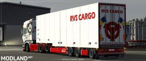 RVS Cargo V8 RJL's Scania R 6-series and Ekeri trailer Skinpack, 2 photo