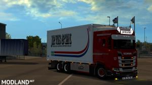 Scania S JP Vis & Zn Tandem skin, 2 photo