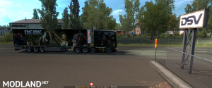 ETS2 - Scania R & Streamline painjob et trailer - King Kong, 2 photo