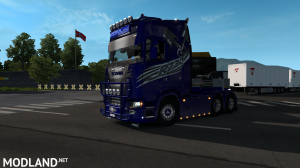 Lasting og Transport Scania R730 skin