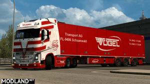 Vogel Volvo white skin, 2 photo