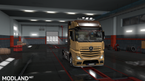 skins SIMON LOOS  for mercedes new actros BY HF  GAMES