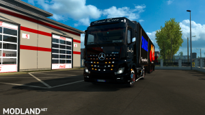 skins SIMON LOOS  for mercedes new actros BY HF  GAMES, 4 photo