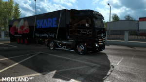 skins SIMON LOOS  for mercedes new actros BY HF  GAMES, 3 photo