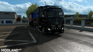 skins SIMON LOOS  for mercedes new actros BY HF  GAMES, 5 photo