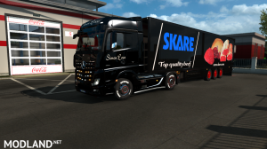 skins SIMON LOOS  for mercedes new actros BY HF  GAMES, 16 photo