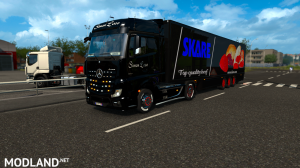 skins SIMON LOOS  for mercedes new actros BY HF  GAMES, 8 photo