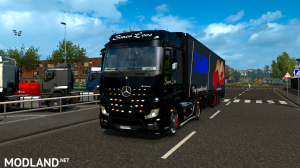 skins SIMON LOOS  for mercedes new actros BY HF  GAMES, 11 photo