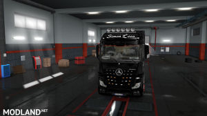 skins SIMON LOOS  for mercedes new actros BY HF  GAMES, 6 photo