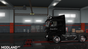 skins SIMON LOOS  for mercedes new actros BY HF  GAMES, 7 photo