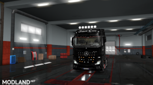 skins SIMON LOOS  for mercedes new actros BY HF  GAMES, 14 photo