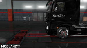 skins SIMON LOOS  for mercedes new actros BY HF  GAMES, 17 photo
