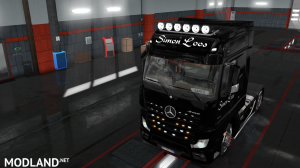 skins SIMON LOOS  for mercedes new actros BY HF  GAMES, 13 photo