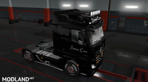 skins SIMON LOOS  for mercedes new actros BY HF  GAMES, 15 photo