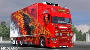 Ristimaa Firebird Next Gen Scania S + Tandem Skin, 1 photo