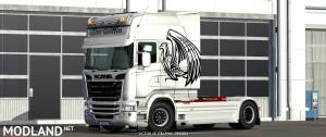 The Griffin RJL's Scania R Skin, 3 photo