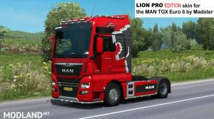 MAN Lion Pro edition skin for Madster MAN, 1 photo