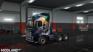 Euro Truck Simulator 2 Volvo FH Skin - External Download image