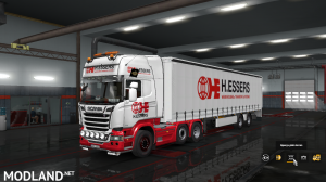 Scania Streamline+Trailer Skin Pack scs Box, 1 photo