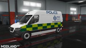 Mercedes Sprinter 2019 Police Scotland