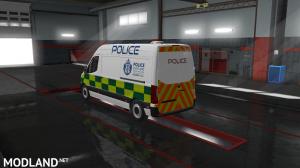 Mercedes Sprinter 2019 Police Scotland, 2 photo
