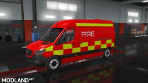 Mercedes Sprinter 2019 Fire