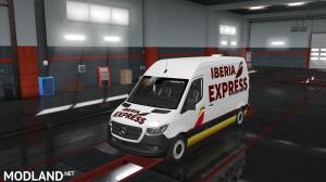 Euro Truck Simulator 2 Mercedes_Sprinter_2019 Skin 1.36