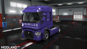 Numilog Logistics Renault T. ETS 2 1.37 1.38