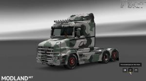 Military Camo Paint Job for RJL Scanias T/T4/R/R4, 5 photo