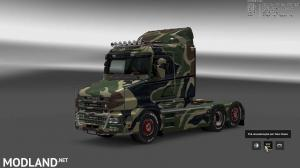 Military Camo Paint Job for RJL Scanias T/T4/R/R4, 2 photo