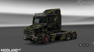 Military Camo Paint Job for RJL Scanias T/T4/R/R4, 1 photo