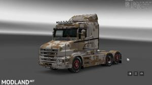 Military Camo Paint Job for RJL Scanias T/T4/R/R4, 3 photo