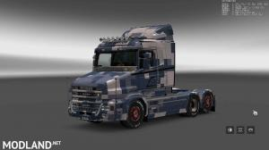 Military Camo Paint Job for RJL Scanias T/T4/R/R4, 4 photo