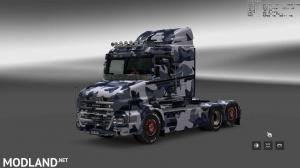 Military Camo Paint Job for RJL Scanias T/T4/R/R4, 9 photo