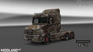 Military Camo Paint Job for RJL Scanias T/T4/R/R4, 6 photo