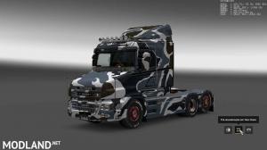 Military Camo Paint Job for RJL Scanias T/T4/R/R4, 8 photo