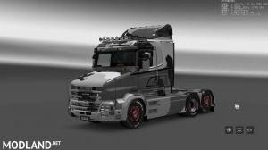 Military Camo Paint Job for RJL Scanias T/T4/R/R4, 10 photo