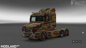 Military Camo Paint Job for RJL Scanias T/T4/R/R4, 12 photo