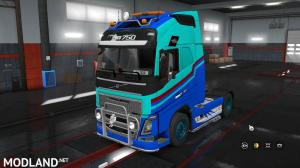 Euro Truck Simulator 2 volvo FH 2012 skin 1 36, 1 photo