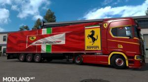 Ferrari trailer skin , 1 photo