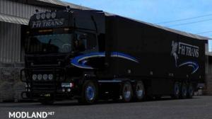 Fh trans skin for Scania RJL, 2 photo