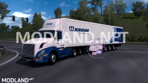Skin Krone for Volvo VNL 300 [ETS2 & ATS]