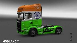 India Skin Scania R Series