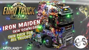 Iron Maiden Skin Pack for All Trucks, 1 photo