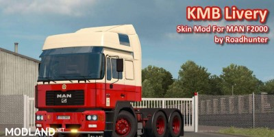 KMB Livery For MAN F2000 by Roadhunter v 1.0, 2 photo