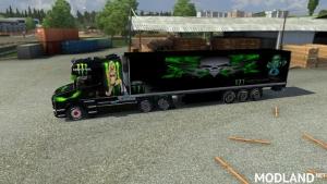 Long Line Monster Energy Skin v 1.0
