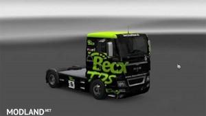 MAN TGA XL BECX Racing skin, 1 photo