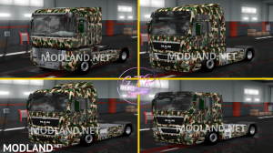 Combo Skin Military for all Truck and (Krone & Standard Trailers), 6 photo