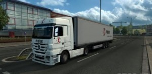 Mercedes Actros 2009 Fiege Combo Pack